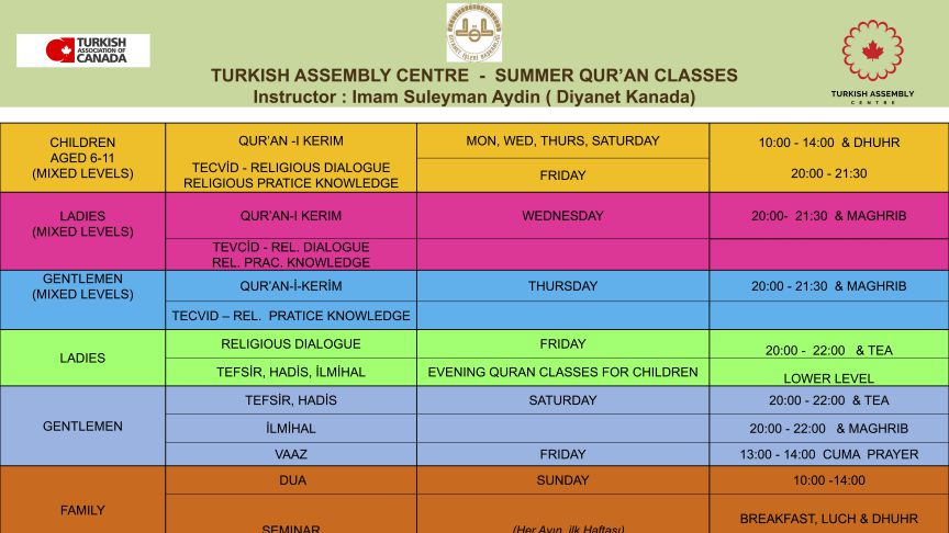 TA CENTRE QURAN CLASSES ENG