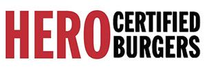 Hero Certified Burgers Logo