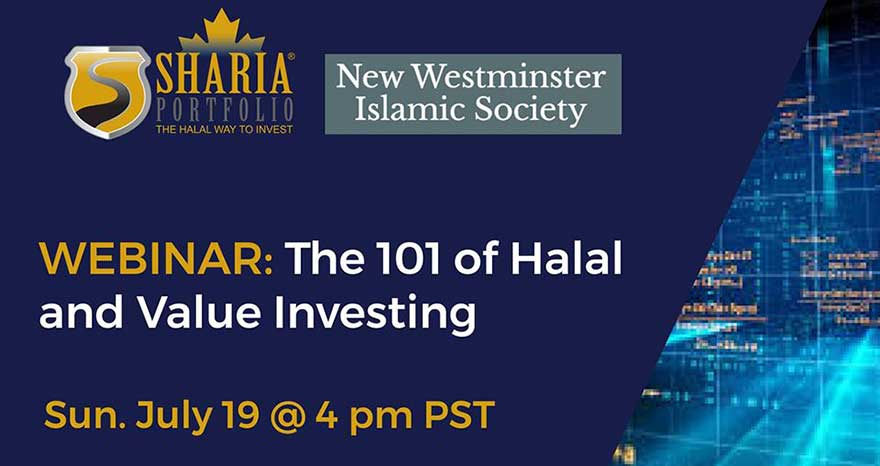 ONLINE ShariaPortfolio Canada The 101 of Halal and Value Investing Webinar