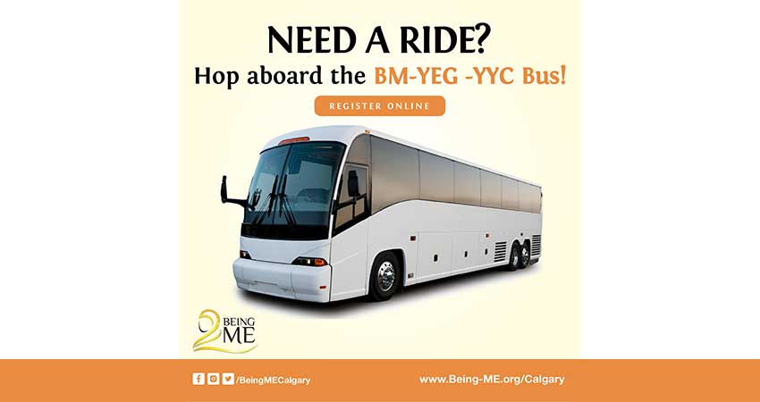 Edmonton Bus to Being ME Muslimah Empowered Conference in Calgary