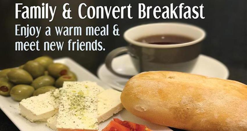 MAC London Family & Convert Breakfast