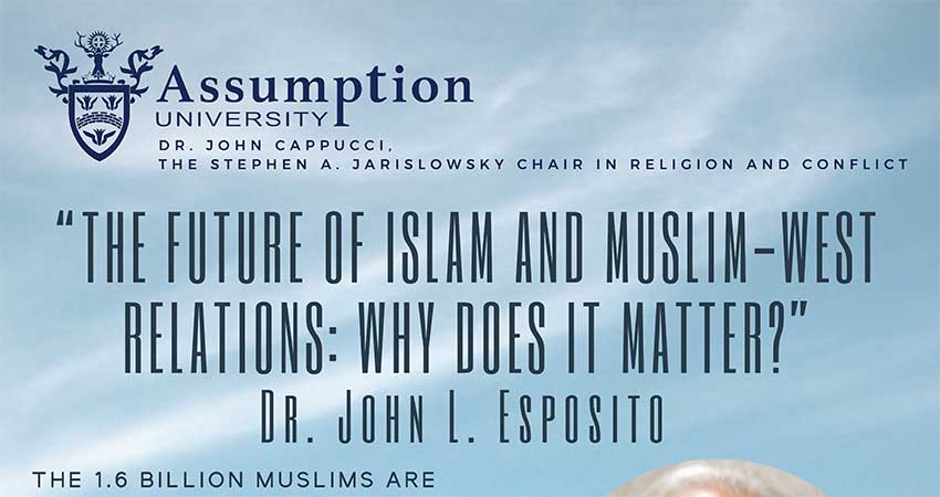 The Future of Islam and Muslim-West Relations with Dr. John Esposito