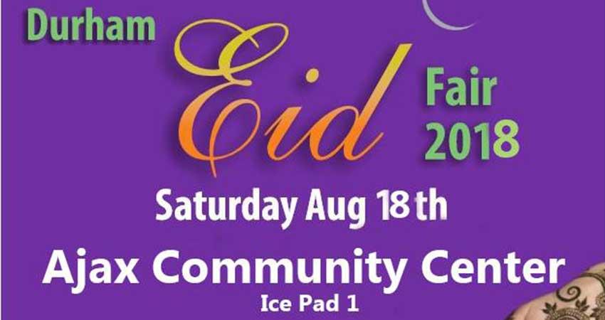 Durham Eid Ul Adha Fair 2018
