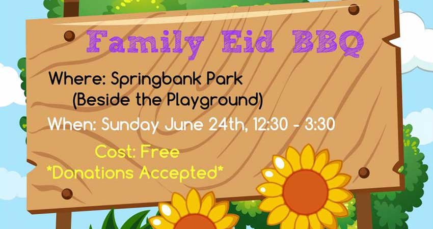 London Muslim Homeschoolers Family Eid BBQ