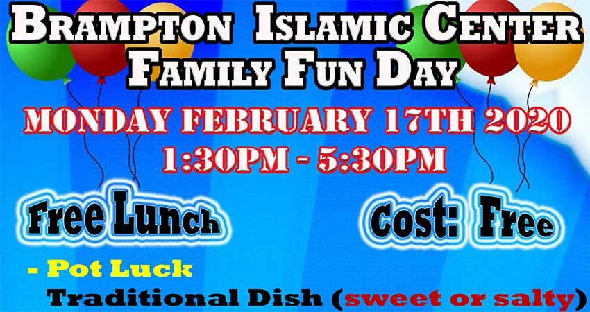 Brampton Islamic Centre Family Fun Day