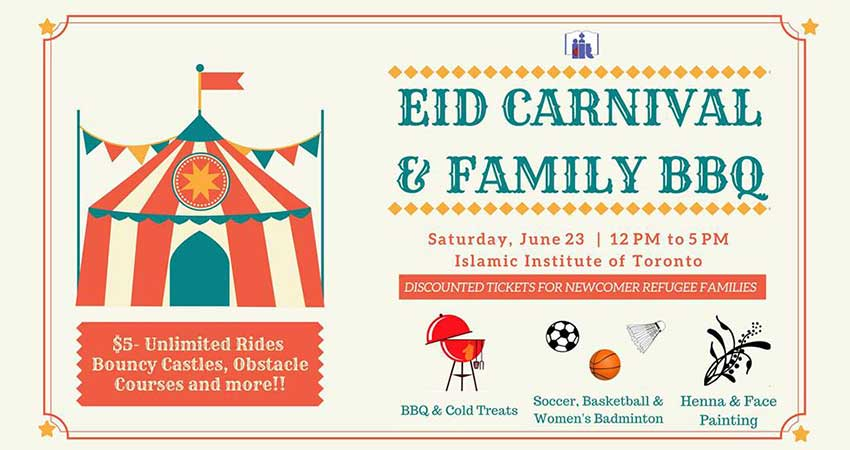 Islamic Institute of Toronto Eid Carnival and Family BBQ