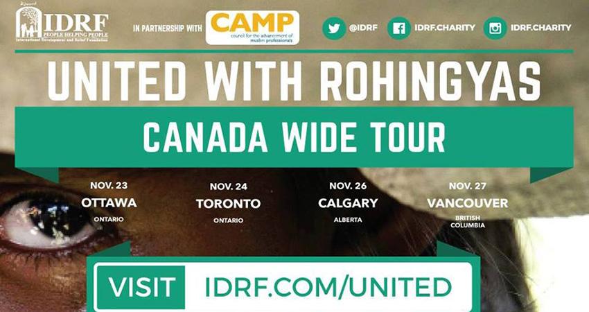 IDRF United with the Rohingyas - Calgary Fundraiser