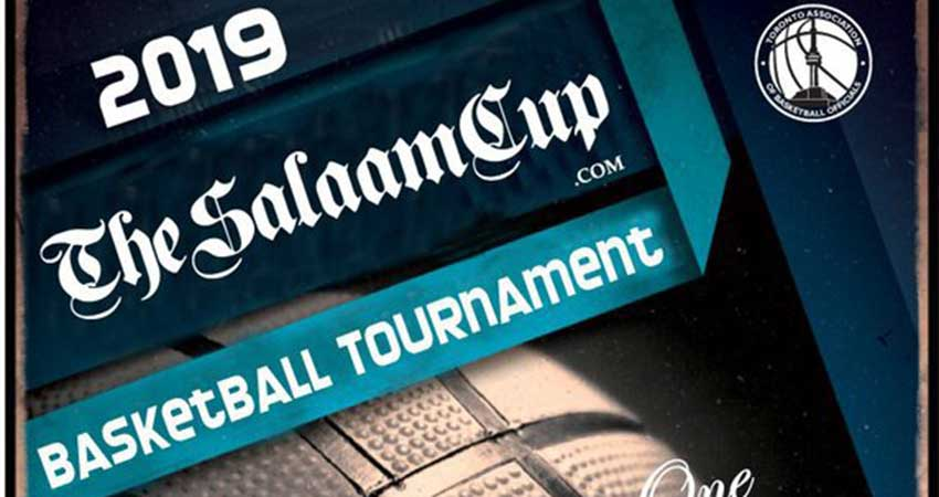 THE SALAAM CUP: 2019 Muslim Basketball Tournament Registration