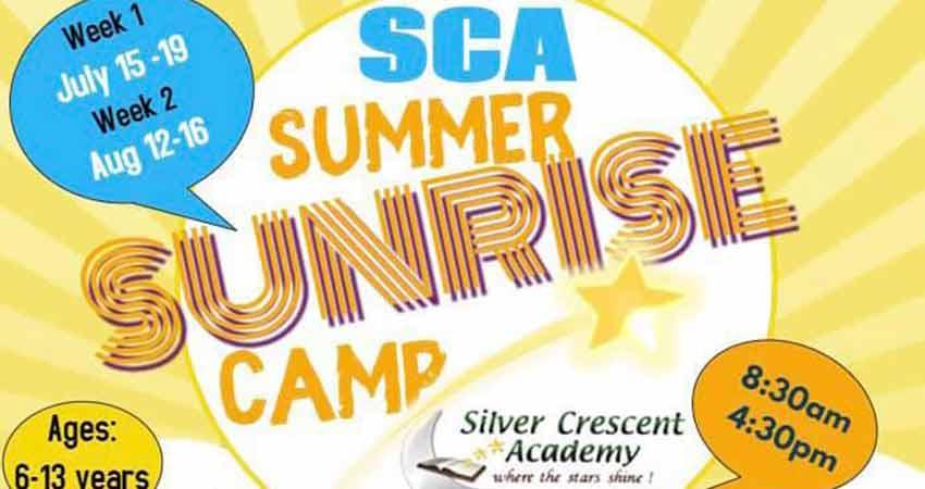 Silver Crescent Academy Sunrise Summer Camp Registration