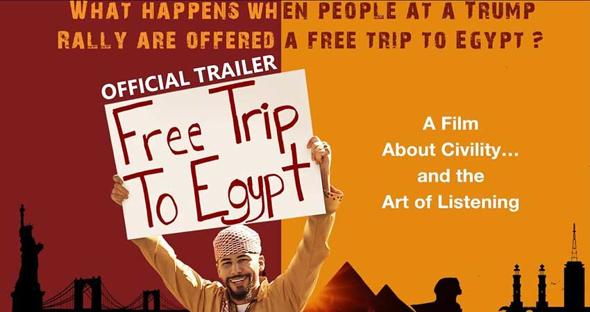 Calgary Screening - Free Trip to Egypt - The Film