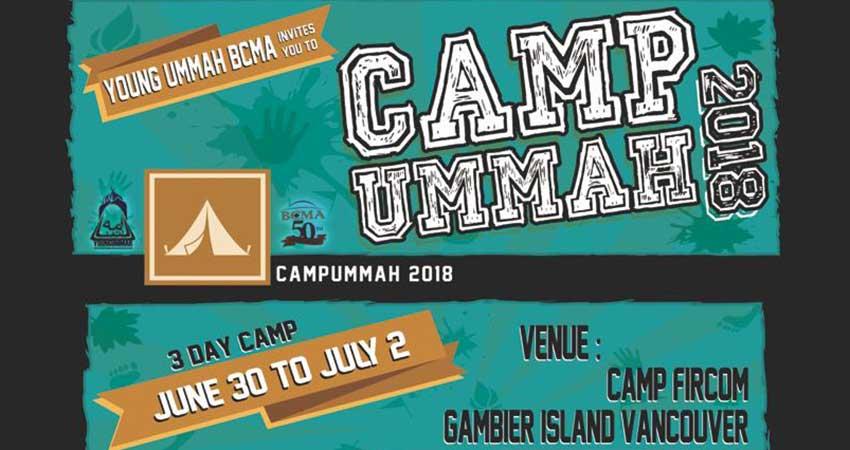 Young Ummah BCMA Camp Ummah Registration