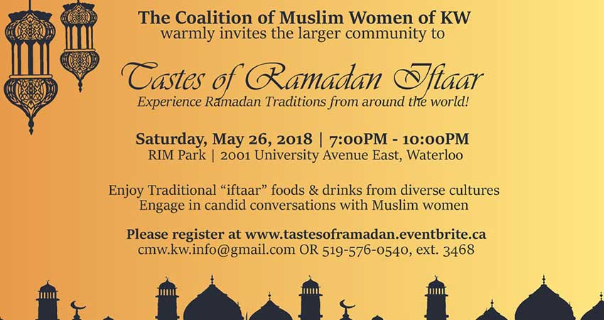 The Coalition of Muslim Women of KW Tastes of Ramadan
