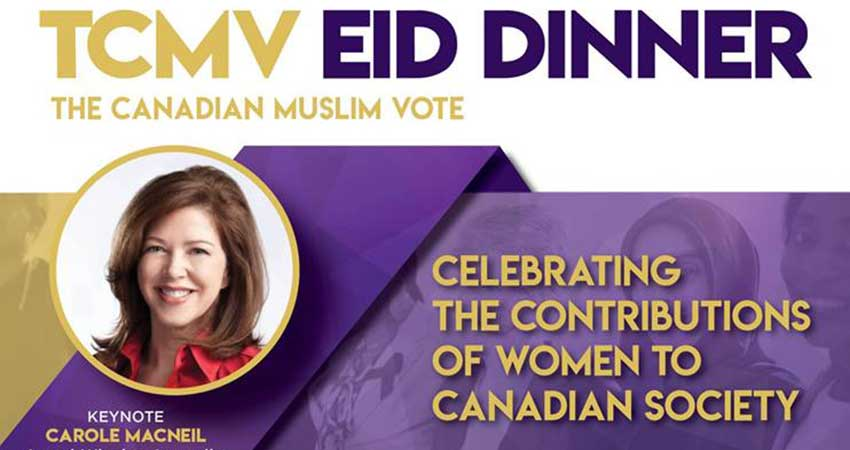 The Canadian-Muslim Vote 2018 Annual Eid & Canada Day Dinner