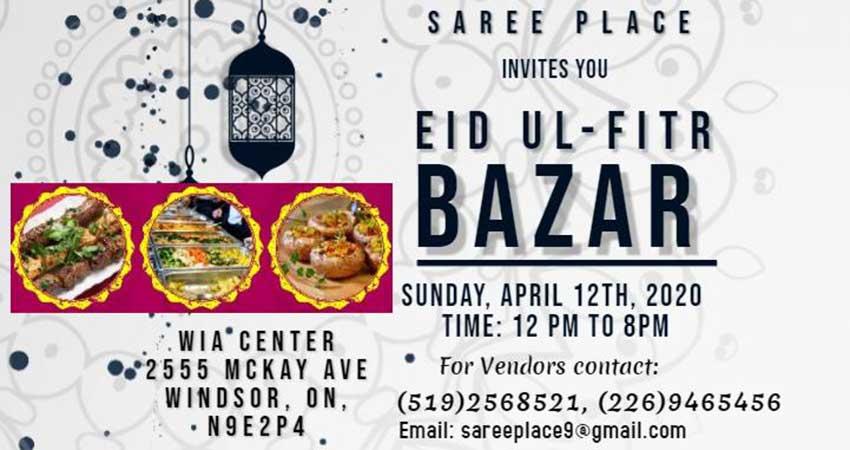 Windsor Eid ul Fitr Bazaar
