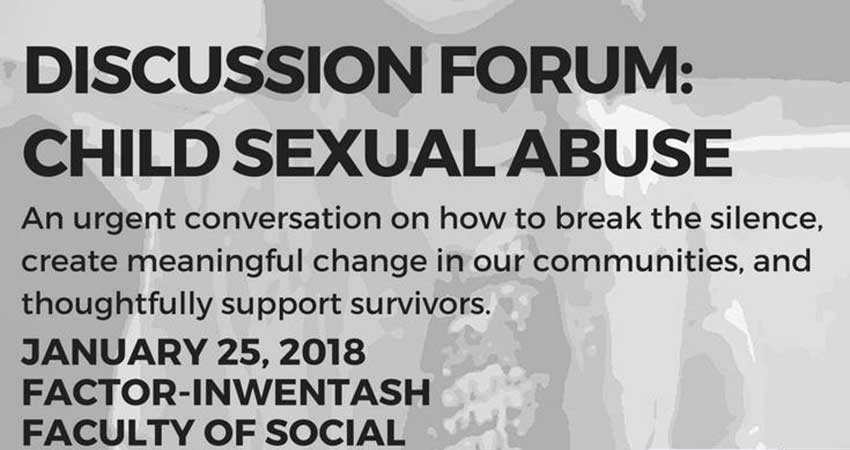 Pakistan Development Foundation Discussion Forum on Child Sexual Abuse