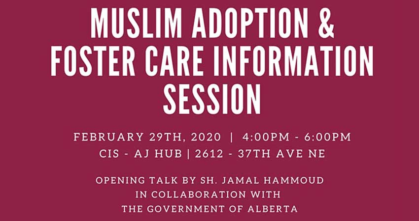 Muslim Adoption and Foster Care Information Session