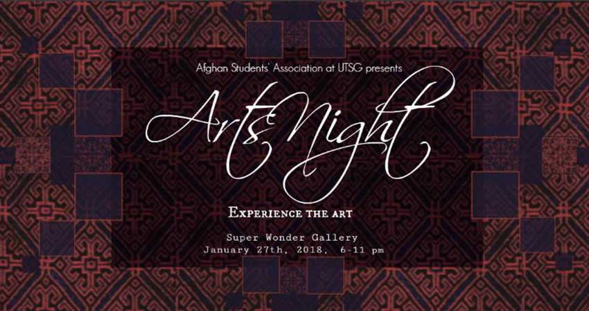 Afghan Students' Association at the University of Toronto Arts Night