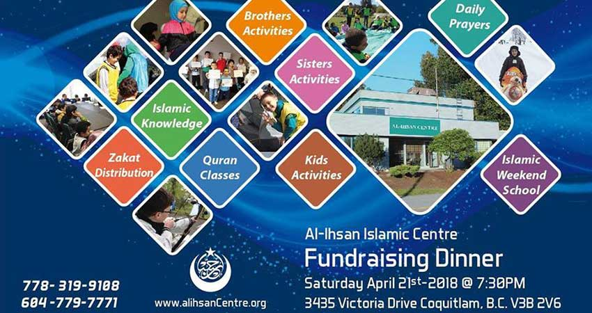 Al Ihsan Islamic Centre Fundraising Dinner