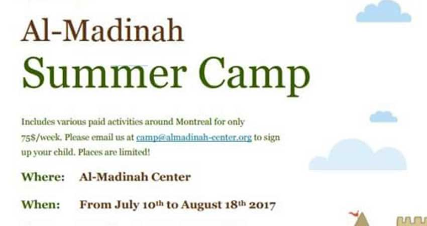 Al Madinah Centre Summer Camp