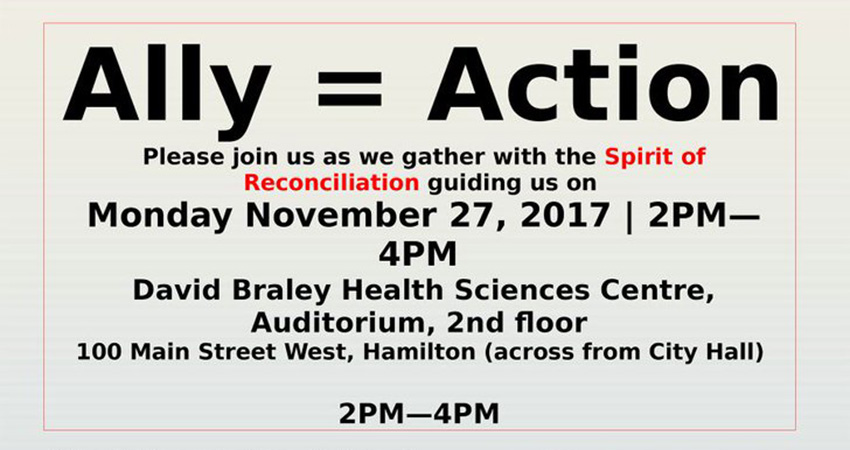 Ally = Acton: Being An Ally to  Indigenous Peoples with Water Runner Hasan Syed