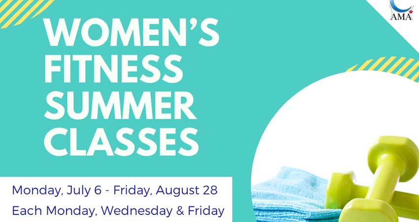 ONLINE Assunnah Muslim Association Women's Summer Fitness Program Starts July 6 Registration Required