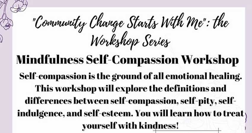 Amal Centre Mindfulness Self-Compassion Workshop