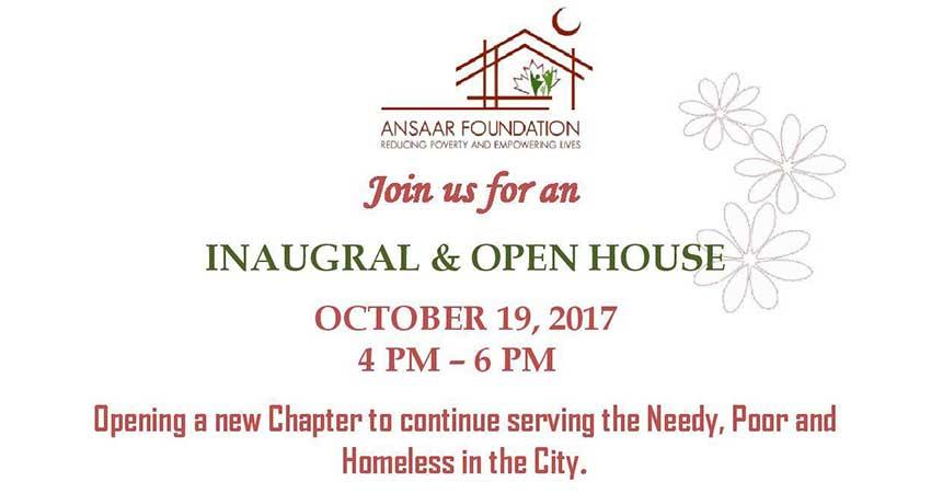 Ansaar Foundation Open House