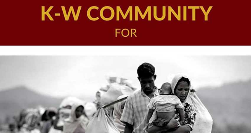 KW Community for Rohingya Genocide Relief Appeal