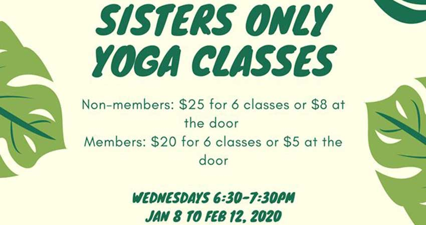 Ark Centre of Excellence Sisters Only Yoga Classes Registration