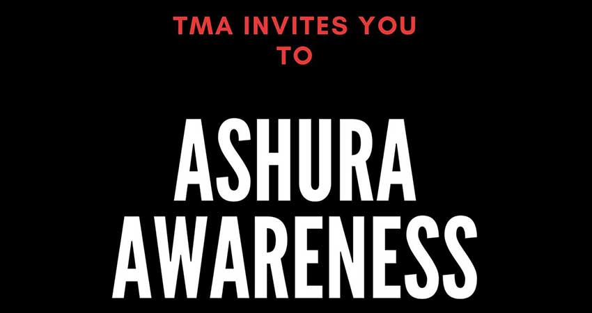 Thaqalayn Muslim Association at UTSC Ashura Awareness
