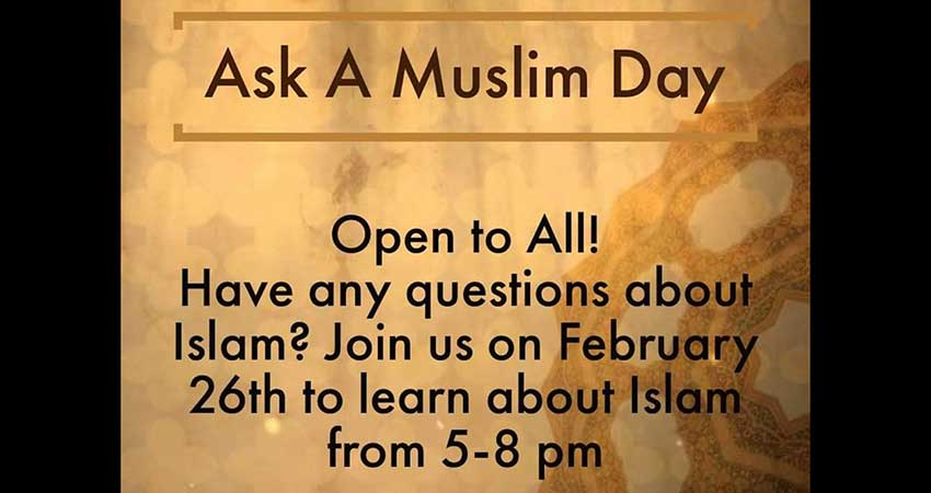 Dalhousie Muslim Student Association Ask A Muslim Day