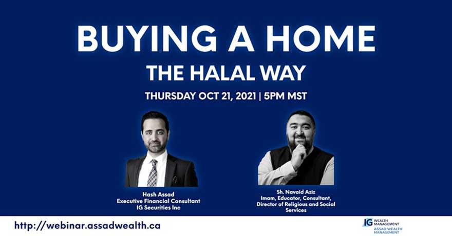 Assad Wealth Management Buying a Home The Halal Way Webinar