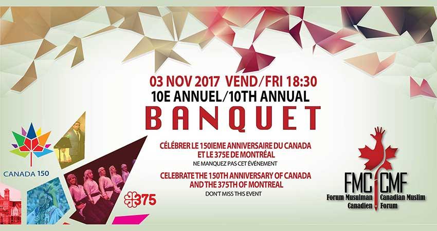Forum Musulman Canadien 10e Banquet Annuel