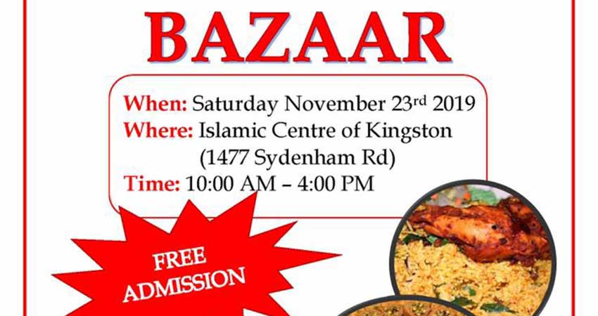 Islamic Society of Kingston Annual International Bazaar