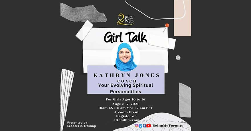 Being ME Girl Talk Presents: Your Evolving Spiritual Personalities (Ages 10 to 16 Only)