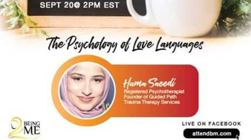 ONLINE Being ME Muslimah Empowered The Psychology of Love Languages