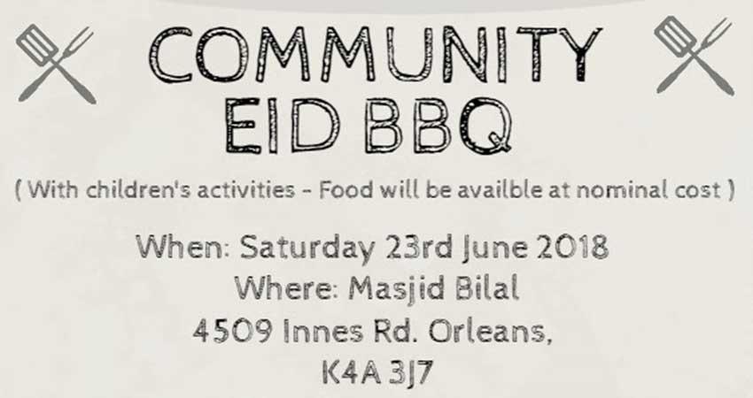 Masjid Bilal Community Eid BBQ
