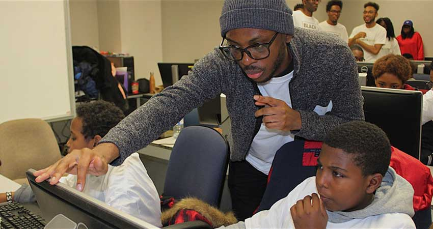 Black Boys Code Ottawa The Future is Automation Ages 8 - 12