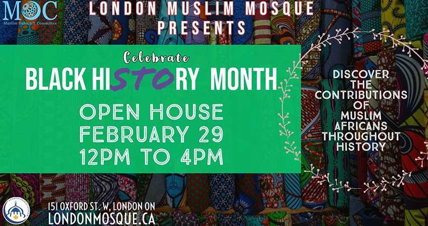 London Muslim Mosque Celebrate Black History Month