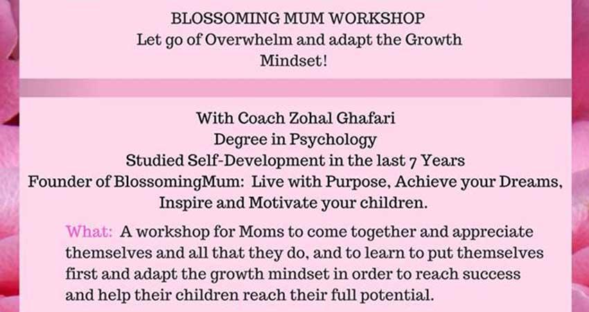 Blossoming Mum Workshop