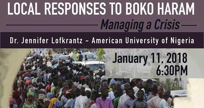 Local Responses to Boko Haram