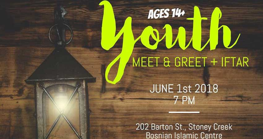 Youth Meet and Greet + Iftar Dinner at Bosnian Islamic Centre