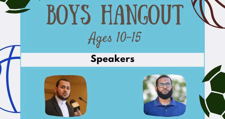 Be Inspired Boys Hangout with Shaykh Hosam Helal and Shaykh Mamoun Hassan