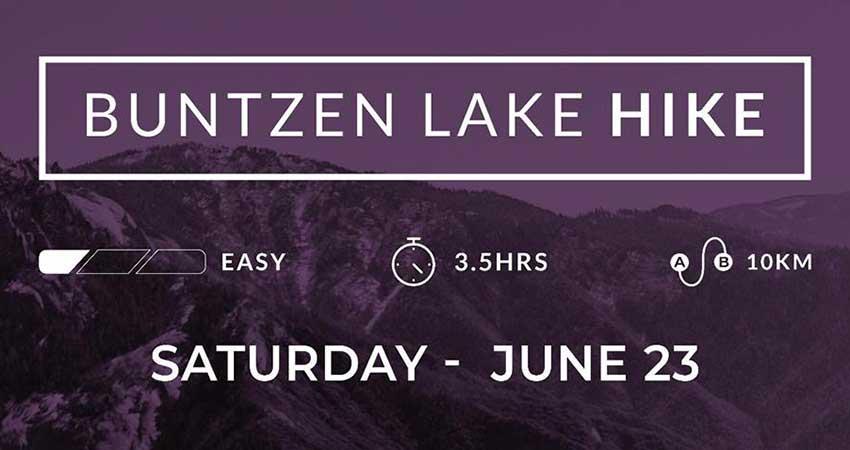 Voices of Muslim Women Buntzen Lake Hike