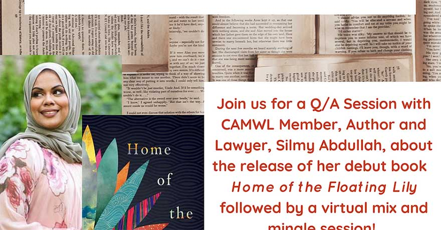 Canadian Association of Muslim Women in Law Social with Author and Lawyer Silmy Abdullah
