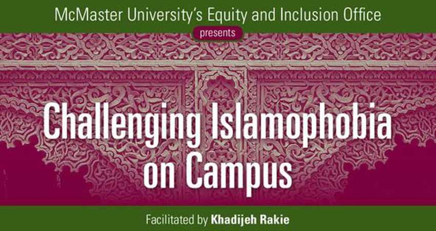 Challenging Islamophobia on Campus Workshop