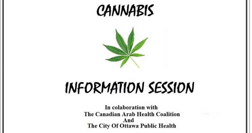 Association of Palestinian Arab Canadians Cannabis Information Session