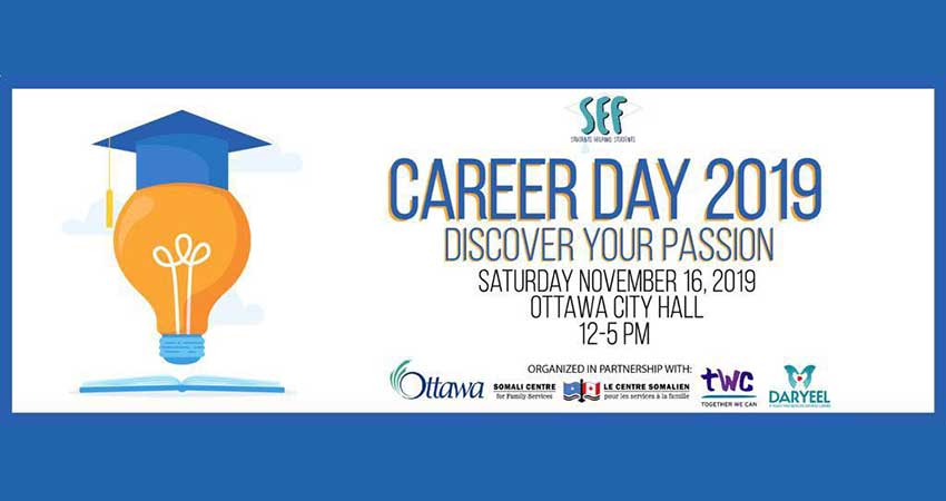 Somali Education Fund Career Day 2019: Discover Your Passion