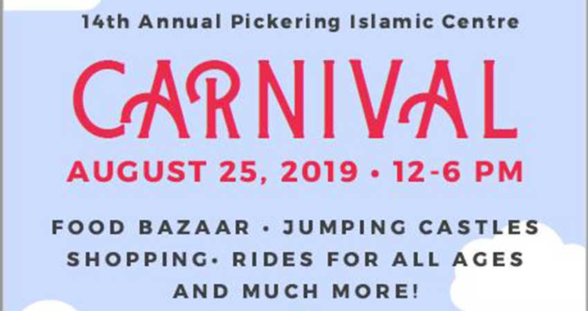 Pickering Islamic Centre Annual Carnival