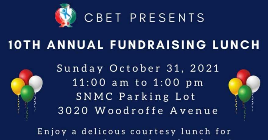 Canada Bangladesh Education Trust (CBET) Fundraising Lunch (Register by October 26)